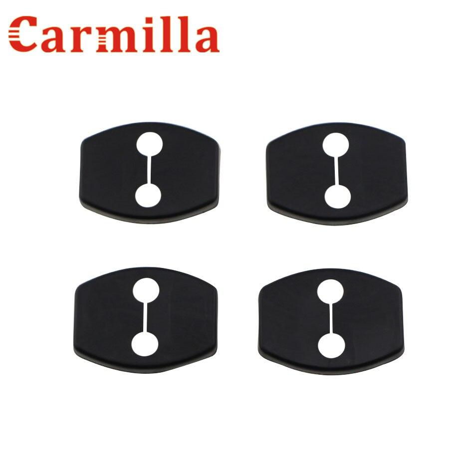 Car styling Door Lock Buckle Cover For Toyota Yari Highlander Prius Corolla Camry 06-11 Rav4 07-13 Reiz Vois 08-13