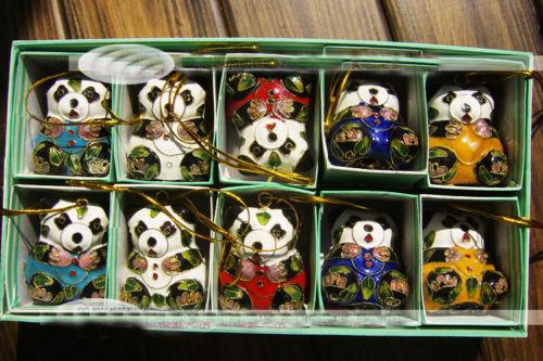 Panda Christmas Ornament Promotion-Shop for Promotional Panda ...
