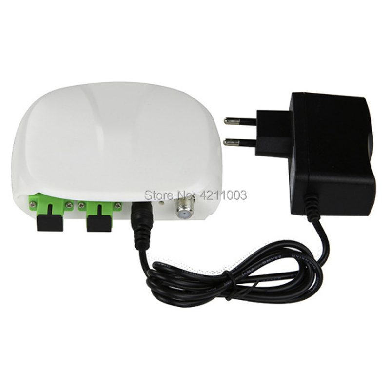 OR19 Ftth Optical Receiver With WDM Catv Optical Receiver Node SC/APC-SC/APC With AGC Mini Node Indoor Optical Receiver