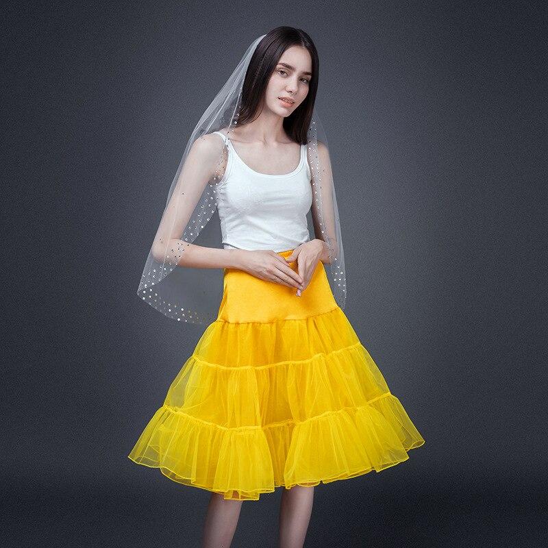 Woman Petticoat Crinoline Bridal Underskirt Petticoat Dance Rockabilly Lolita Plus Size Petticoat
