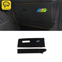 CAR MANGO For BMW F48 X1 2016 2017 2018 Auto Car styling copilot storage box Anti kick mat cover Interior Accessories