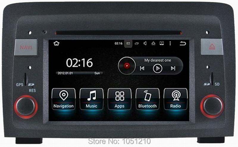 Ouchuangbo android 9.0 voiture audio gps navigation radio enregistreur pour Fiat idée Lancia Musa avec 1080 P vidéo 8 core 4 GB + 32 GB