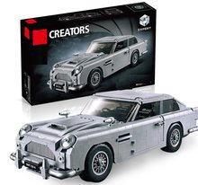 Technic Series 10262 Aston Martin DB5 Set Building Blocks Bricks Children Car Model Gifts Toys Compatible ings classic cars(China)