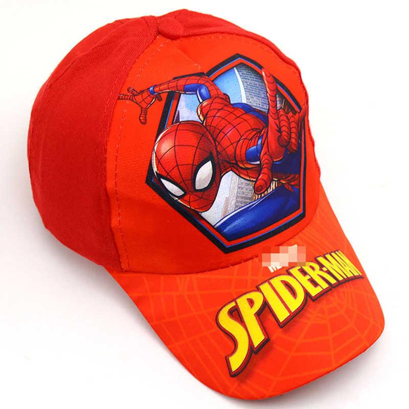 2019 unicórnio aranha impresso crianças bonés de sol bebê esportes ao ar livre chapéus de beisebol bonito meninas meninos homem aranha hiphop chapéu snapback