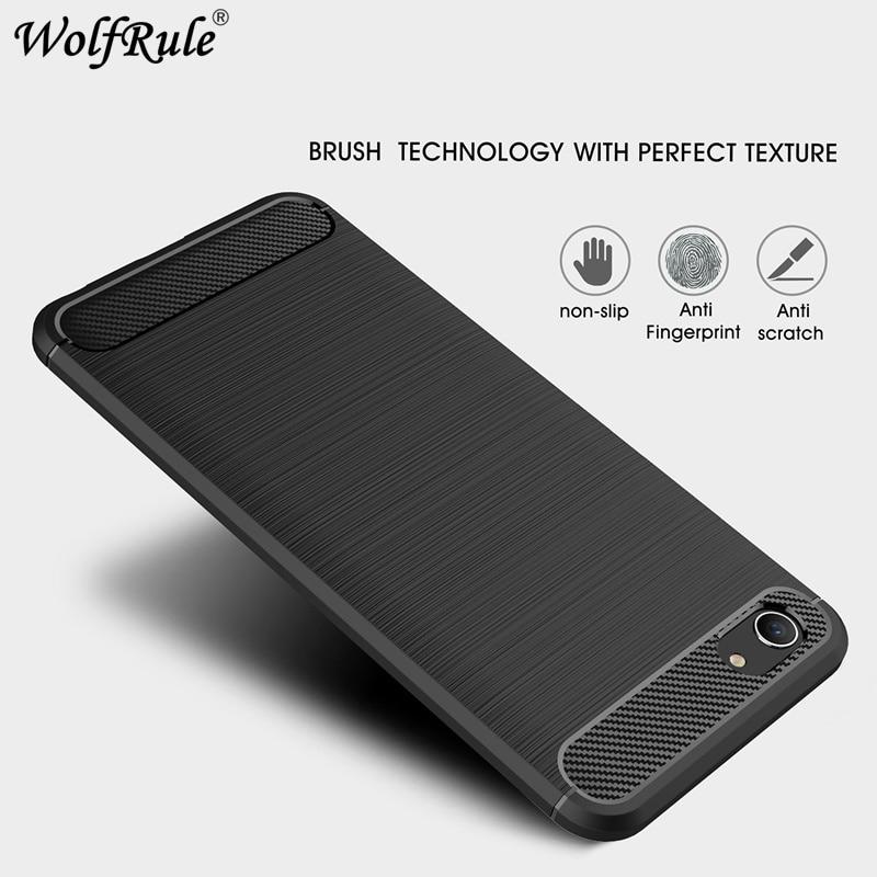 Wolfrule Cover Vivo Y83 Case BBK Vivo Y83A Y83 Case, Rugged Armor Soft Rubber Silicone Cover For Vivo Y83 Phone Bag Case Shell