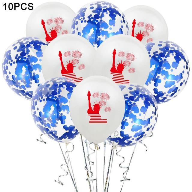 Estátua da folha da liberdade balões eua globos de ar independência dia decorações eua suprimentos de festa para 4th de julho