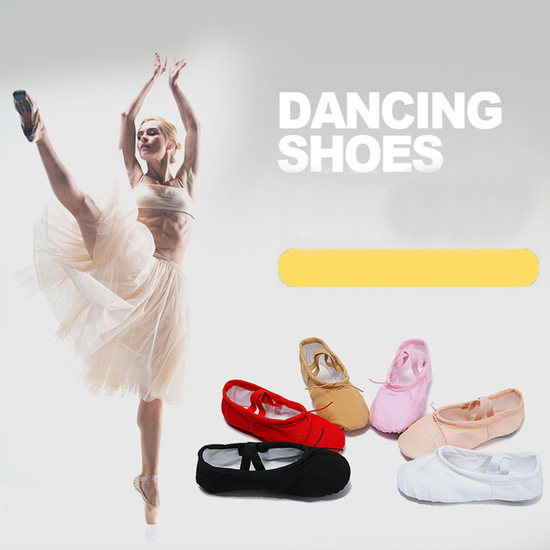 Free shipping Children's dancing shoes canvas yoga shoes women's dancing shoes adult cat's paw ballet dance shoes JQ-298