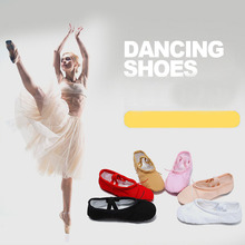 Free shipping Childrens dancing shoes canvas yoga womens adult cats paw ballet dance JQ-298