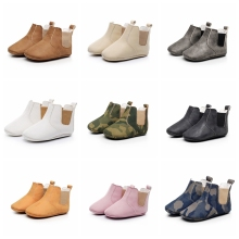 2017 New Infant Toddler Nyfödda Baby Girls Kids Första Walkers Spjälsäng Bebe Children Prewalkers Soft Bottom Anti Slip Ankle Boots S2