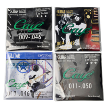 "009"" 010"" 011"" Electric guitar strings Nickel alloy 6pcs/set Caye EW7300 EW7400 EW7500 EW7600"