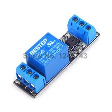 10PCS 1 Channle 24V Relay Module Relay Expansion Board Low Level Triggered 1Way Relay Module for