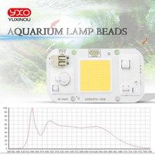 AC 110V 220V 50W DOB COB LED chip Aquarium lampe Wasserdichte Wasserpflanze Perlen Für aquarium led beleuchtung aquarium