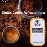 Olimpo Электронный Цифровой рефрактометр для кофе 0 30% Brix 0 25% TDS хорошее использование для кофейни и домашнего теста кофе сахара