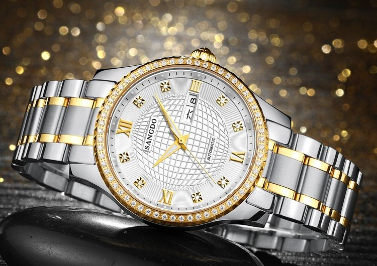40mm Sangdo Luxury watches Automatic Self-Wind movement Sapphire Crystal High quality 2017 new fashion Men's watch BZD01A 39mm sangdo luxury watches automatic self wind movement sapphire crystal high quality 2017 new fashion men s watch gbd70a