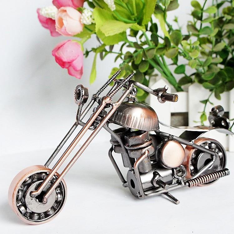 Vintage trombita Harley motorkerékpár modellekhez Retro motor - Lakberendezés - Fénykép 4