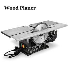 Настольный Электрический строгальный станок по дереву, многофункциональный деревообрабатывающий станок, тип 120