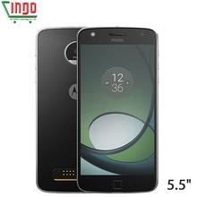 Ограниченное предложение Оригинальный Motorola Moto Z Play xt1635 Восьмиядерный Qualcomm 32 ГБ Встроенная память 5.5 «16mp Android 6.0 Камера Touch ID смарт-мобильный телефон