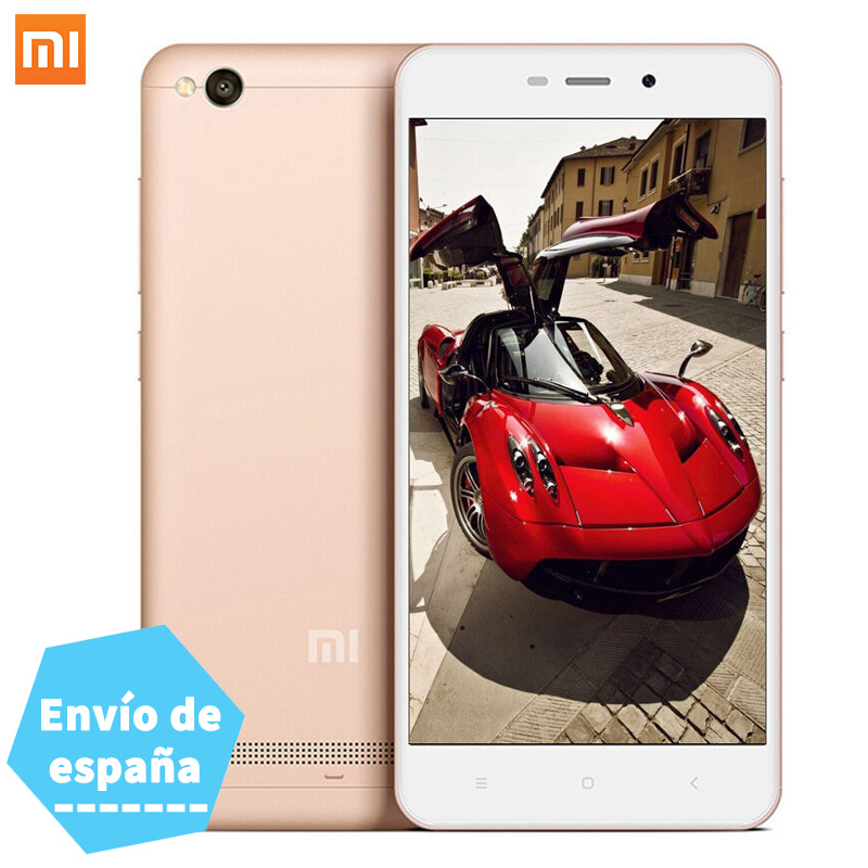 EU Versions Original Xiaomi Redmi 4A Snapdragon 425 Quad Core 13.0MP 5.0 Inch 1280x720 2GB RAM 16GB ROM mi Redmi 4A Mobile Phone