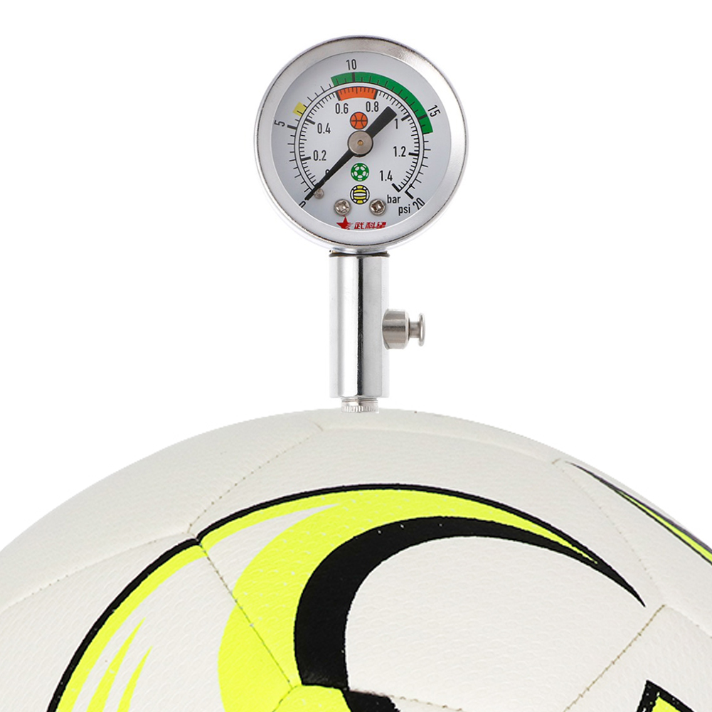 Basketball / Volleyball Pressure Gauge Air Watch Football Volleyball Soccer Ball Barometers