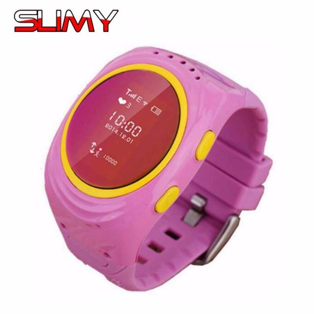 Toper d12 dos miúdos das crianças smart watch phone gsm gps tracker locator anti-perdida smartwatch para android ios crianças relógio de pulso estoque