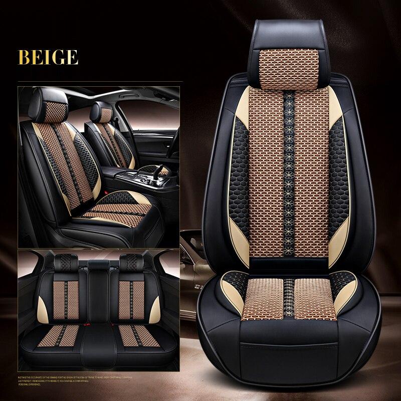 Couverture de siège de voiture pour ford fiesta skoda rapide mini cooper vw golf 6 kia rio mazda 3 hyundai tucson solaris auto accessoires stylin
