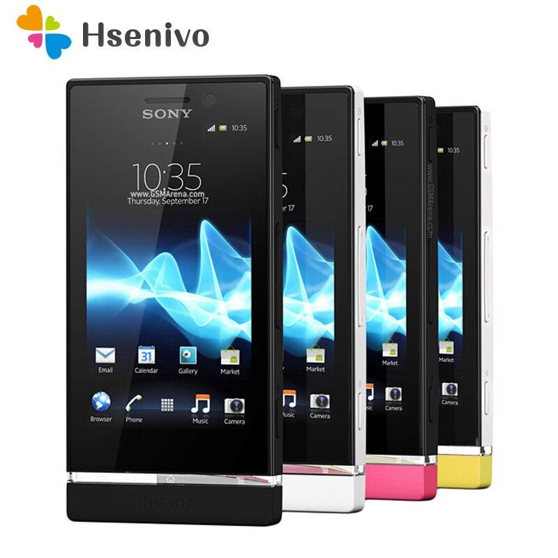 ST25 Débloqué Original Sony Xperia U Débloqué Original ST25i GSM 3.5