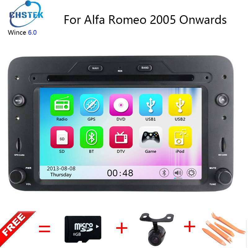 Wince6 0 Car DVD Player For Alfa Romeo Spider Alfa Romeo 159 2005 onwards with 800MHz