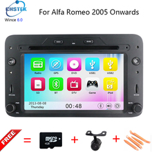 Wince6.0 dvd-плеер автомобиля для Alfa Romeo паук alfa romeo 159 2005 года с 800 мГц Процессор Bluetooth Радио GPS навигации