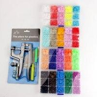 Оптовая цена нового T5 Смола кнопочные пуговицы 20 видов цветов одежда для малышей пуговицы одна коробка из пяти цветов с инструментом