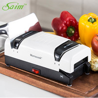 Saim Kitchen Grinder Knife Machine Electric Knife Sharpener Multifunctional Automatic Household Knives Sharpener Fast Whetstone