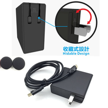 For Nintend Switch Dock Travel Portable Fast Charging AC Power Charger Adapter NS NX Console US Plug PD 2.0 45W 3A