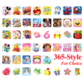 200 Sheets 18.5*7.2CM Cartoon Kids Stickers Toys Pegatinas Emoji PVC Sticker Scrapbook for Kids Children Gift