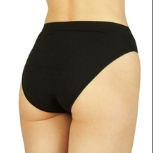 New Ladies Underwear Knickers Cotton Panties Lingerie,Cotton High-Leg full Briefs Available in Black & White