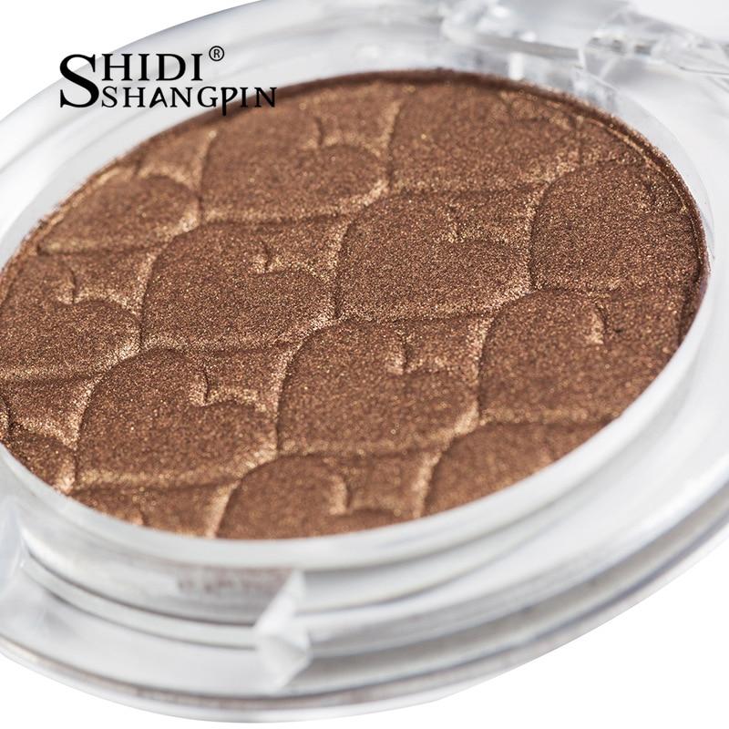 Single Color 28 Colors Eyeshadow Palette Makeup Cosmetic Mirror Waterproof Matte Glitter Eyeshadow Pallete Make Up Eye Shadow in Eye Shadow from Beauty Health