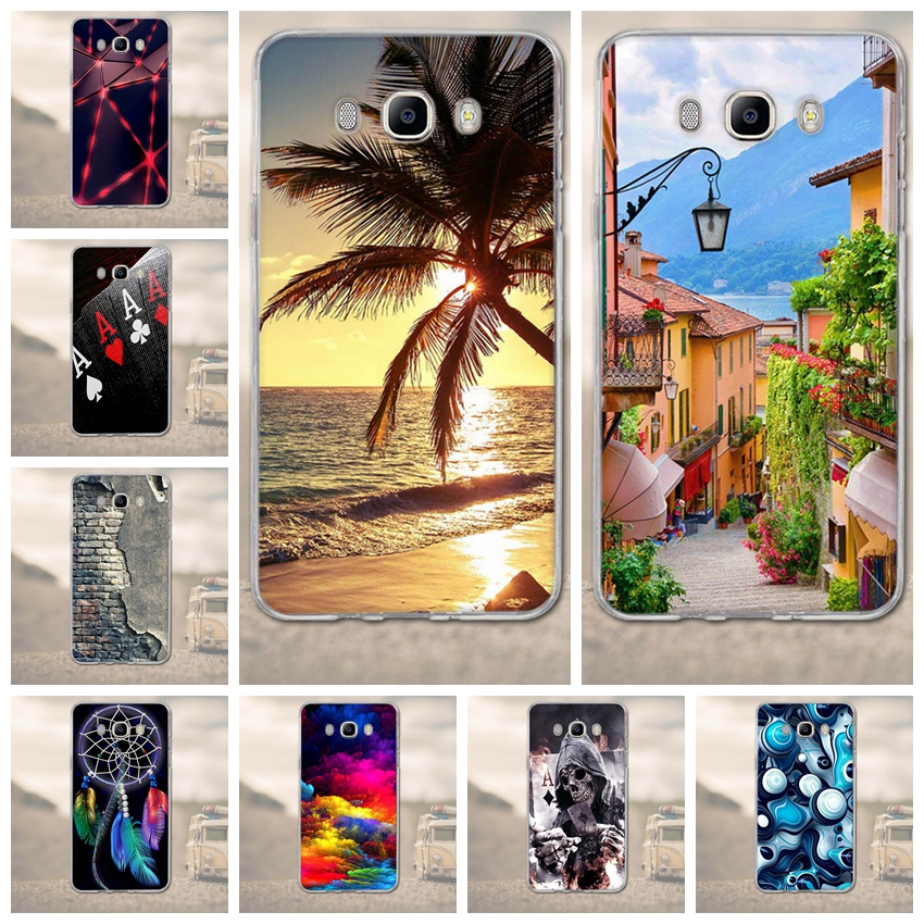 TPU Soft Case for Samsung Galaxy J7 (2016) J710F J710H J710FA J710M Back Cover Fundas 3D Cartoon For Samsung J7 J710 2016 Cases