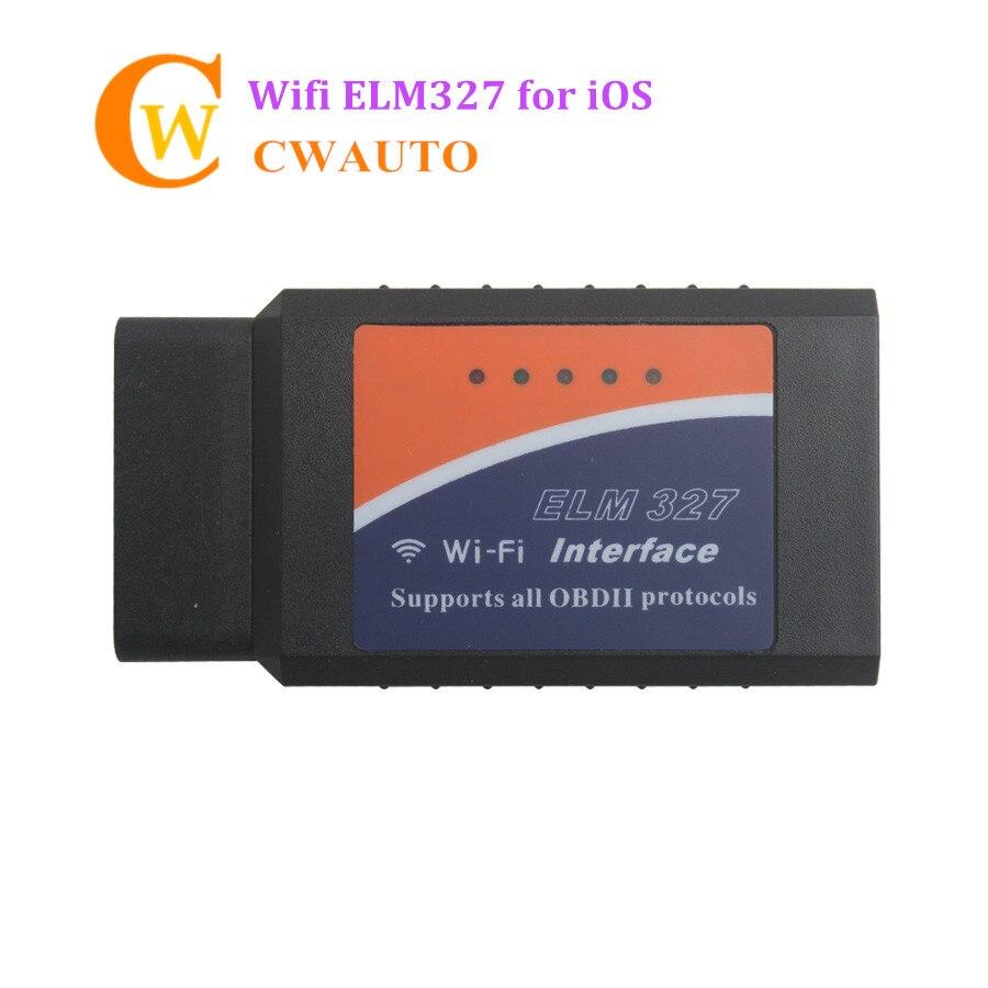 Wifi ELM327 V2 1 OBD2 código Scan Tool Elm 327 V1 5 firmware OBDII lector  de código Sistema IOS