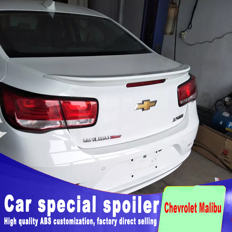 Eco//LS//LT Models Set of 2 Rear Bumper Cover Compatible with 2013-2015 Chevrolet Malibu with Valance