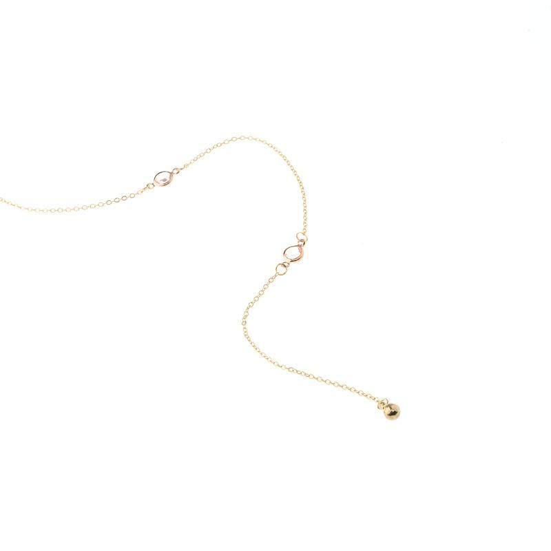 Сән Crysta Necklacel Артқа тізбегі Әйелдер - Сәндік зергерлік бұйымдар - фото 6
