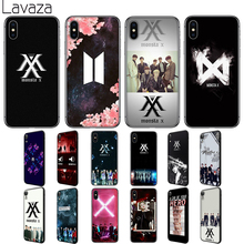 Lavaza Monsta X KPOP Boy Group Soft Silicone Case Cover for Apple iPhone 6 6S 7 8 Plus 5 5S SE XS 11 Pro MAX XR