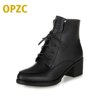 Plus Size 35 43 Winter Women S Boots 2017 New Genuine Leather Women Boots Warm Bare