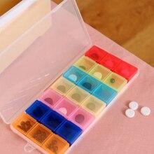 7 дней таблетки медицина таблетки pillbox диспенсер Органайзер чехол с 21 отсеками таблетки коробка многоцветный контейнер для медикаментов