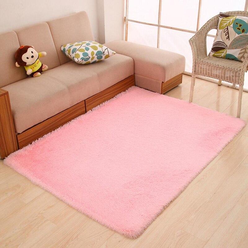 Shaggy Soft Table Sofa Carpet Big Home Decorative Living Room Table ...