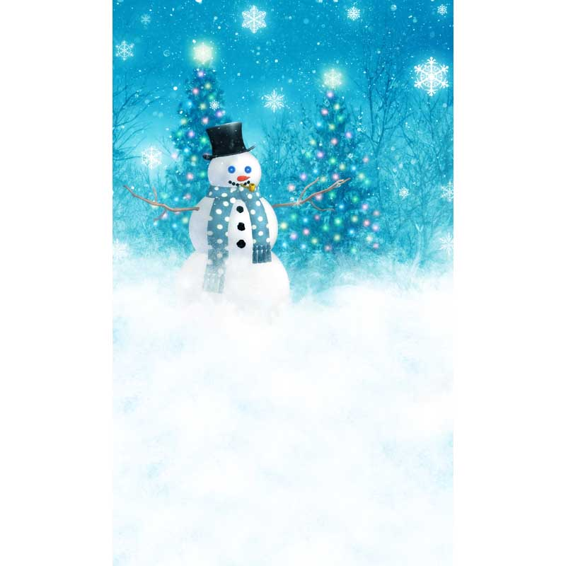 Blue sky snowman photography backdrops forest photo background for kids photo studio photography backgrounds camera fotografia fancy forest backdrops for photo outdoor shooting photography backgrounds for photo studio photographic background fotografia