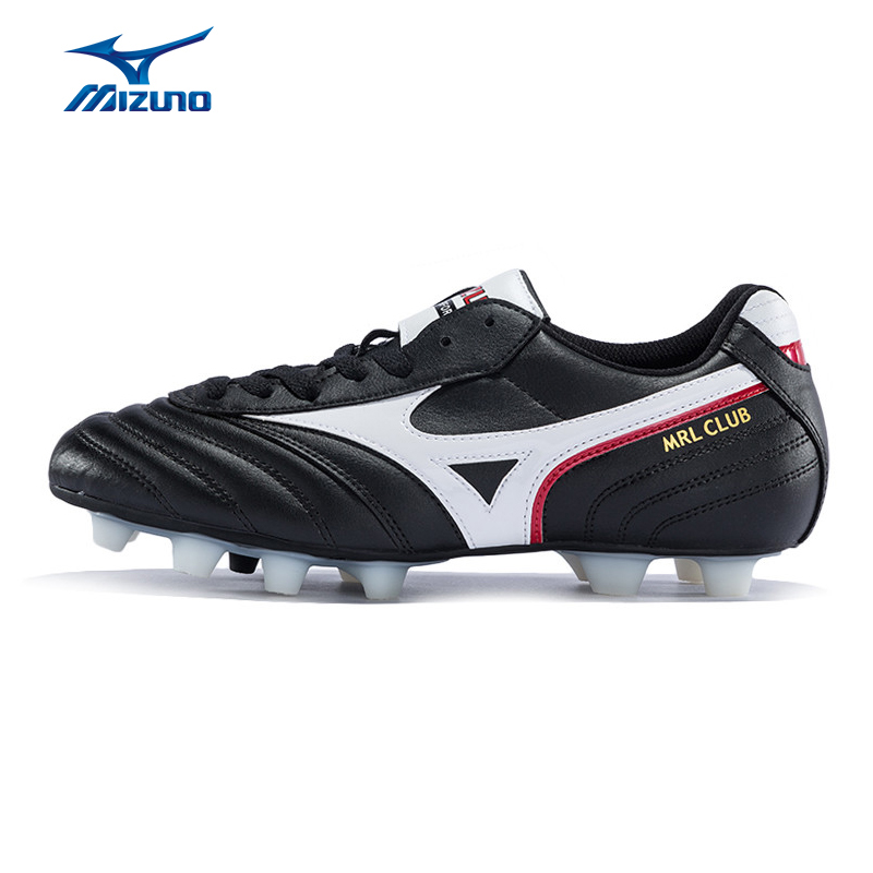 MIZUNO Men's Cushioning Soccer Shoes MRL CLUB MD Light Sport Shoes Sneakers 12KP-97601 YXZ009 mizuno men s sports beathable cushioning soccer shoes monarcida fs as light sport shoes sneakers p1gd152301 yxz003