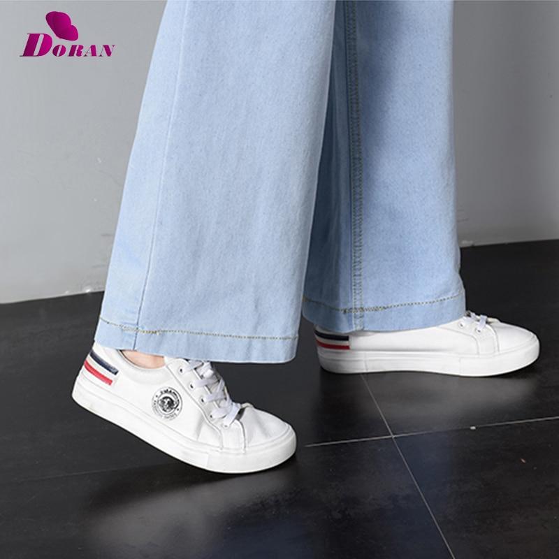 Vintage Wide Leg Jeans Big Pockrt Loose Washed High Waist Denim Pants 2018 Long Jeans for Women Pantalon Femme Light Dark Blue 6