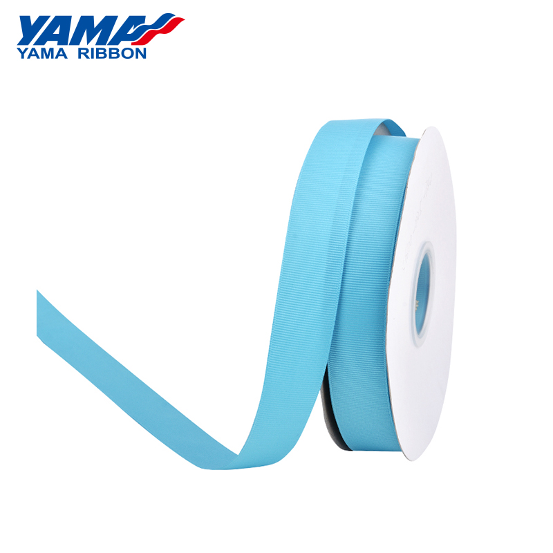 Image 2 - YAMA 25 28 32 38 mm 100 yards/lot Blue Grosgrain Ribbon Perfect for Wedding Decoration Crafts and Gifts Packing Woven Ribbons-in Ribbons from Home & Garden