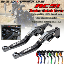 RC51Motorcycle new CNC aluminum clutch brake lever for Honda RC51 RVT1000R VTR1000 SP1 2000-2006 retractable adjustable rod