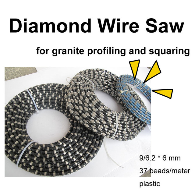 Diamond Wire Saw for Granite Profiling and Squaring-in Abrasive ...