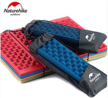 Naturehike Outdoor Folding Camping Mat Cushion Single Person Portable Wearproof Chair Moisture Pad Camp Grass  4 Colors