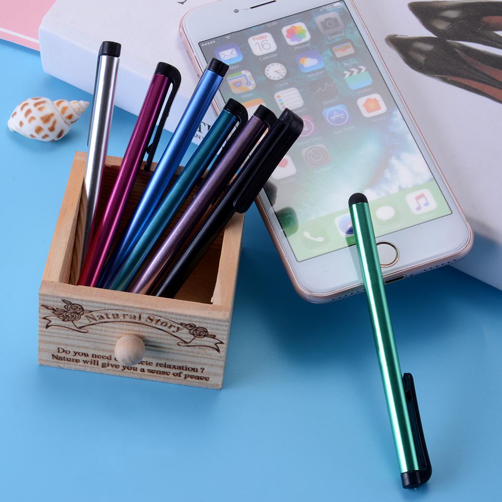 5 шт. емкостный стилус-ручка сенсорный для смартфона для Айфона 8 7 6 с samsung С6 С7 для компании Xiaomi 4х телефоны планшет caneta ручка перья
